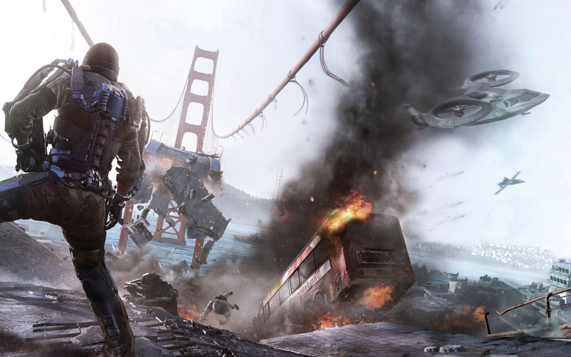 Call of Duty Advanced Warfare Game HD Wallpaper