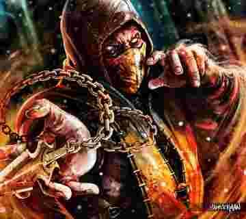 Scorpion-from-Mortal-Kombat-X-Badass-Fan-Art