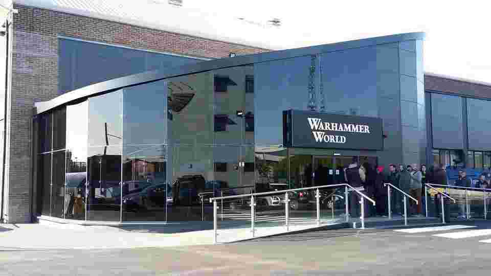 warhammer world que