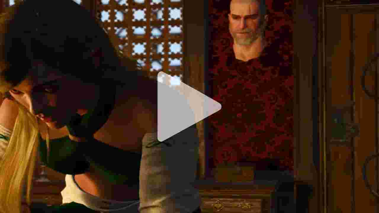 The Witcher 3: Wild Hunt - Sex scene - Visit in the brothel goes wrong - hilarious bug