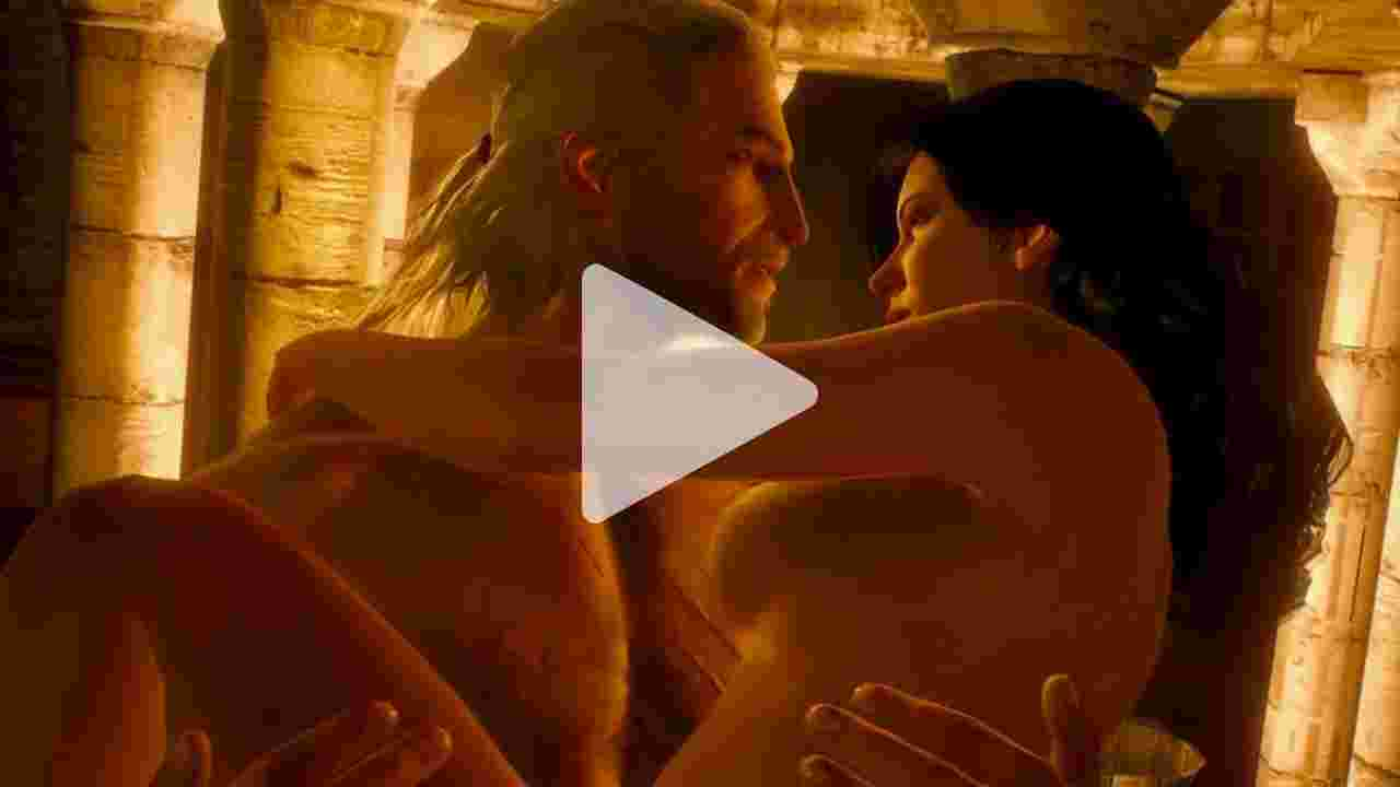 The Witcher 3 - Yennefer Sex Scene at Kaer Morhen