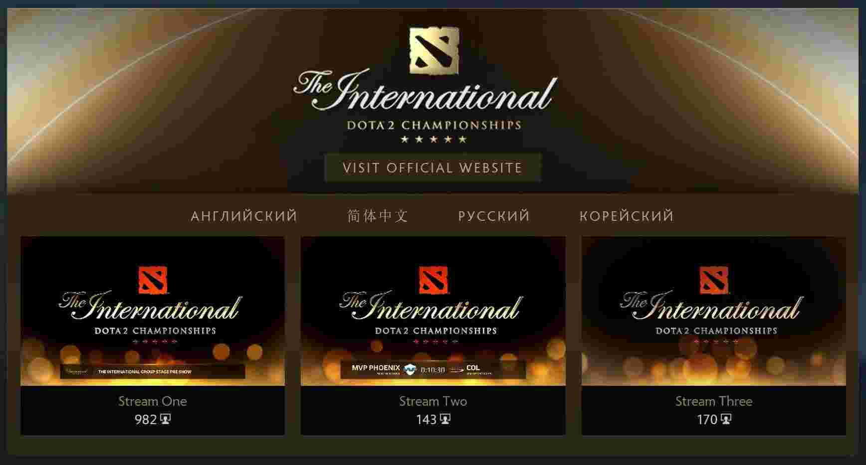 TI5 Watch