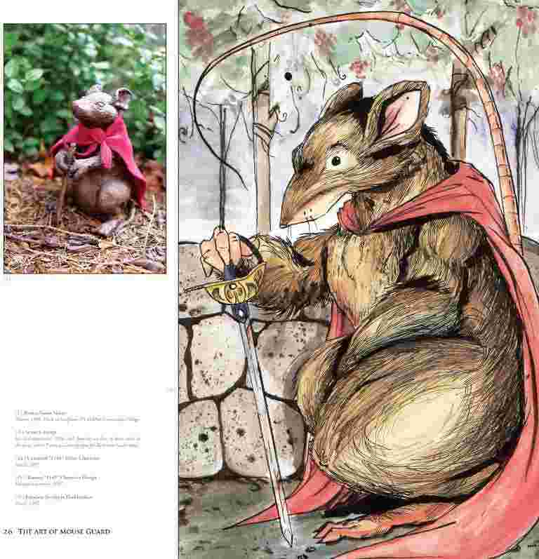 The Art of Mouse Guard