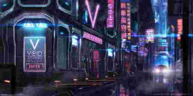 640x320_12802_Void_Sisters_Shop_2d_cyberpunk_street_picture_image_digital_art