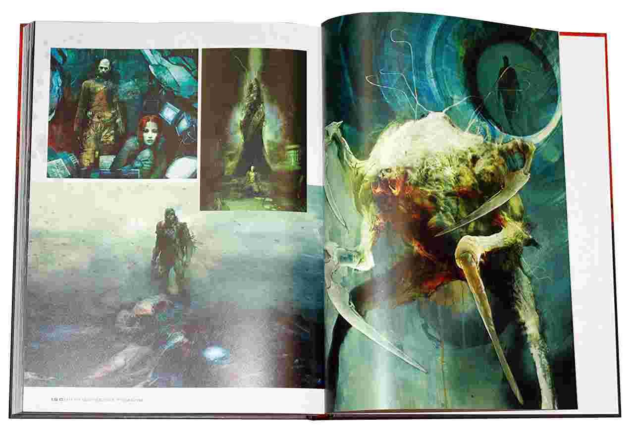Арт-бук Світ гри Dead Space| комікси новини | Комікс-дайджест