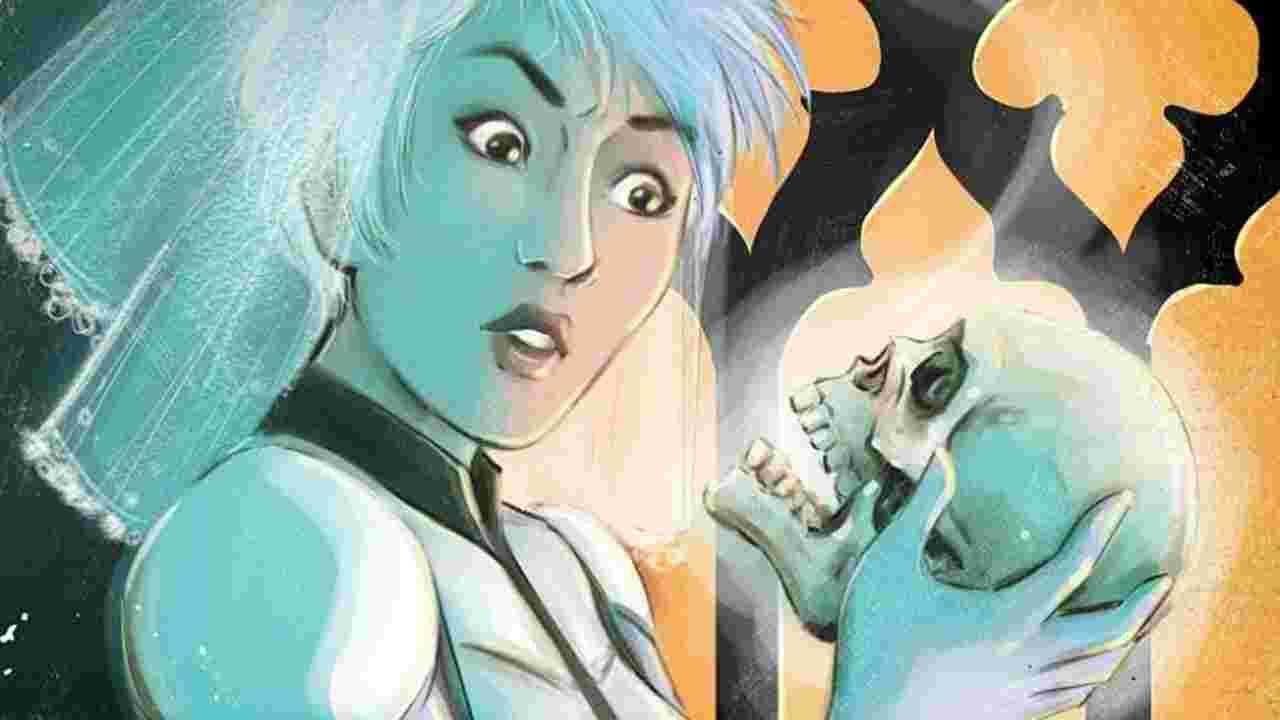 Шалена пристрасть між подружжям Міраж — живої Шони, та мертвого Ґвена комікс