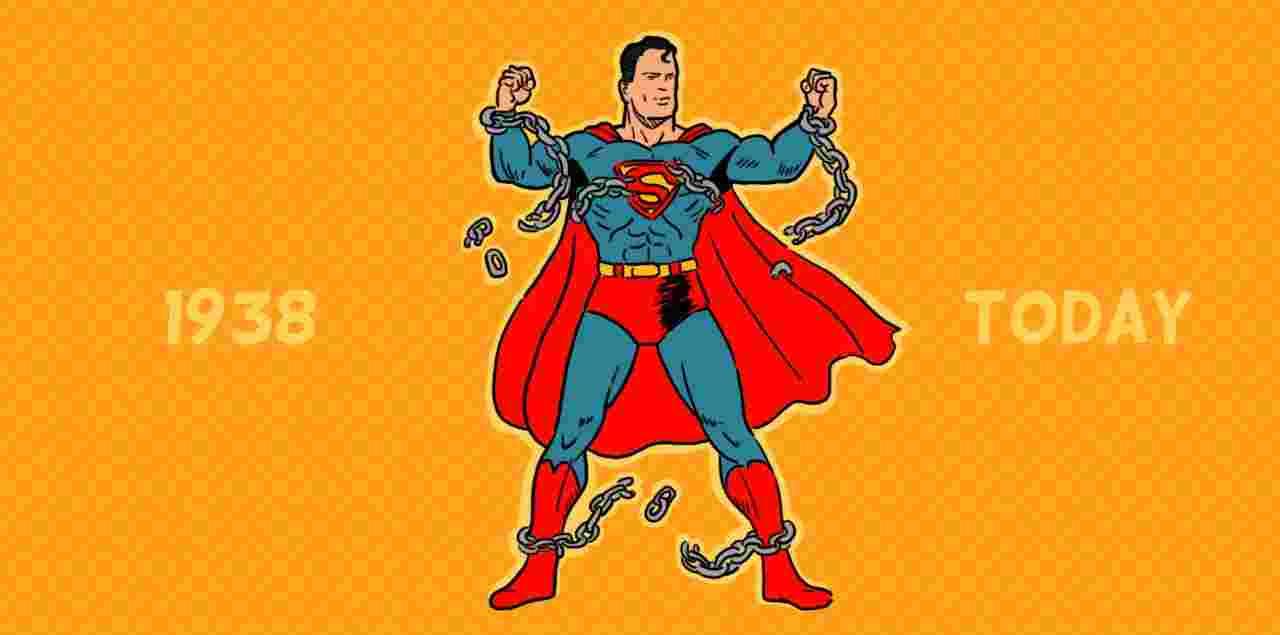 Кватирка у комікси #1 Супермен