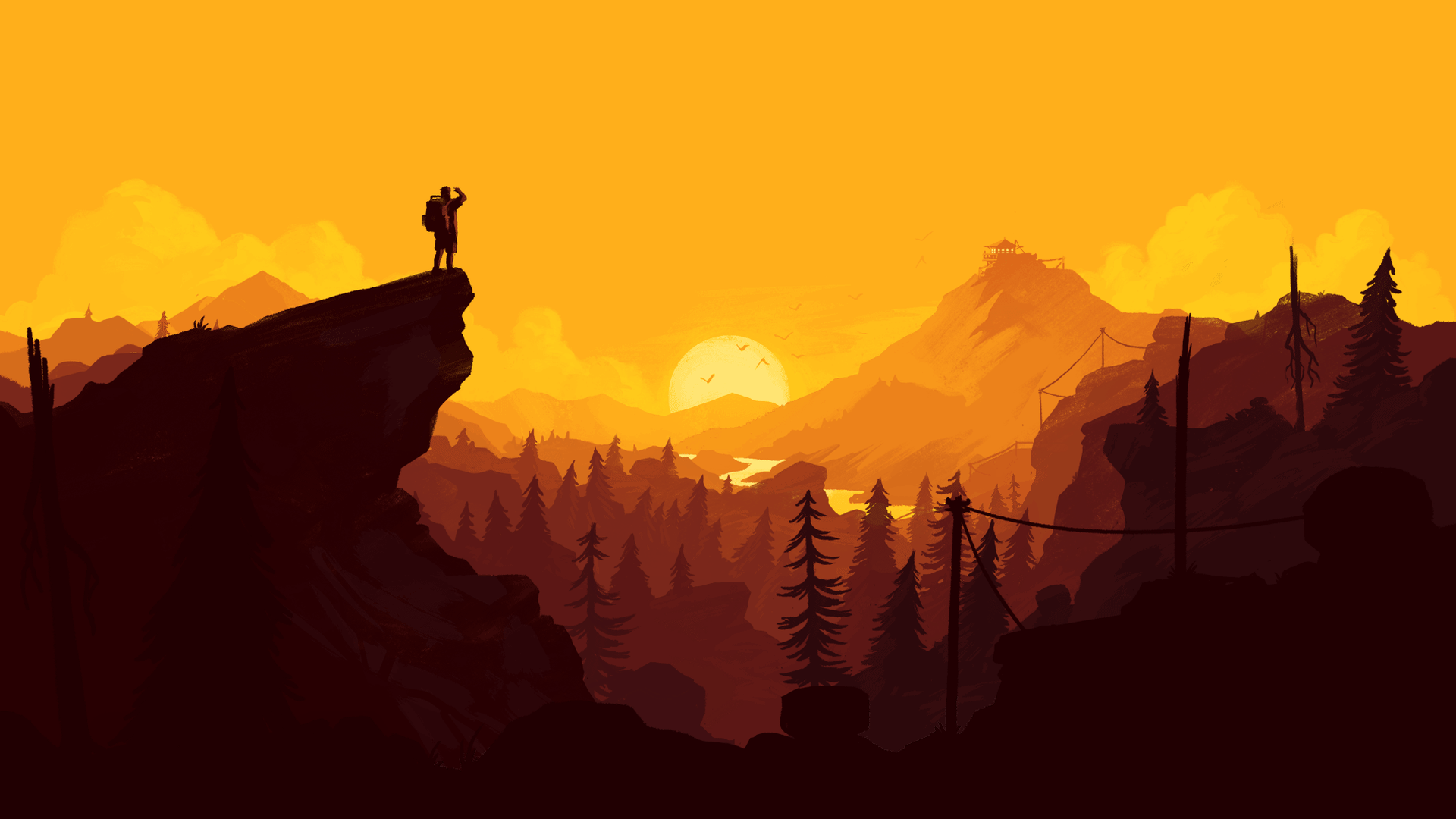 Firewatch playua for Going minimalist