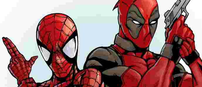 Spiderman-Deadpool-Crossover-Announced