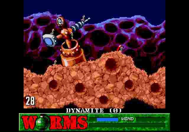 Динаміт – найбільш руйнівний засіб у базовому наборі черв'яків