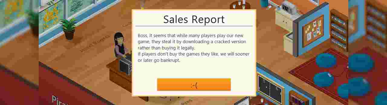 game dev tycoon piracy