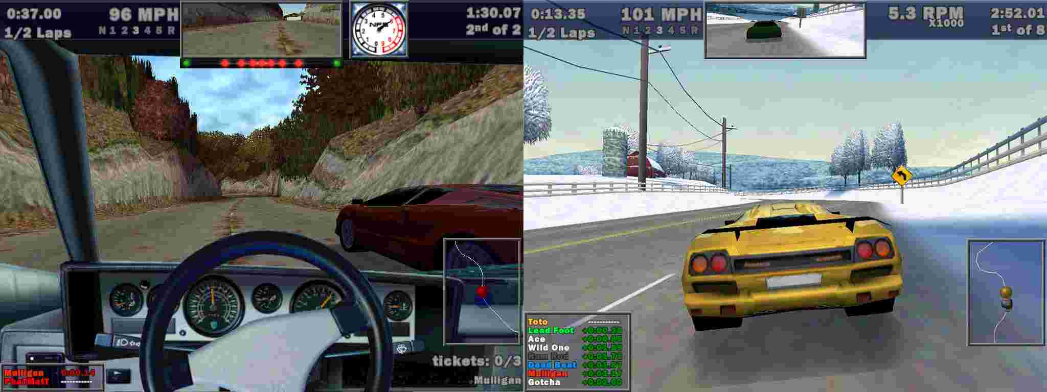 Need For Speed 3: Hot Pursuit (1998) | Історія серії NFS