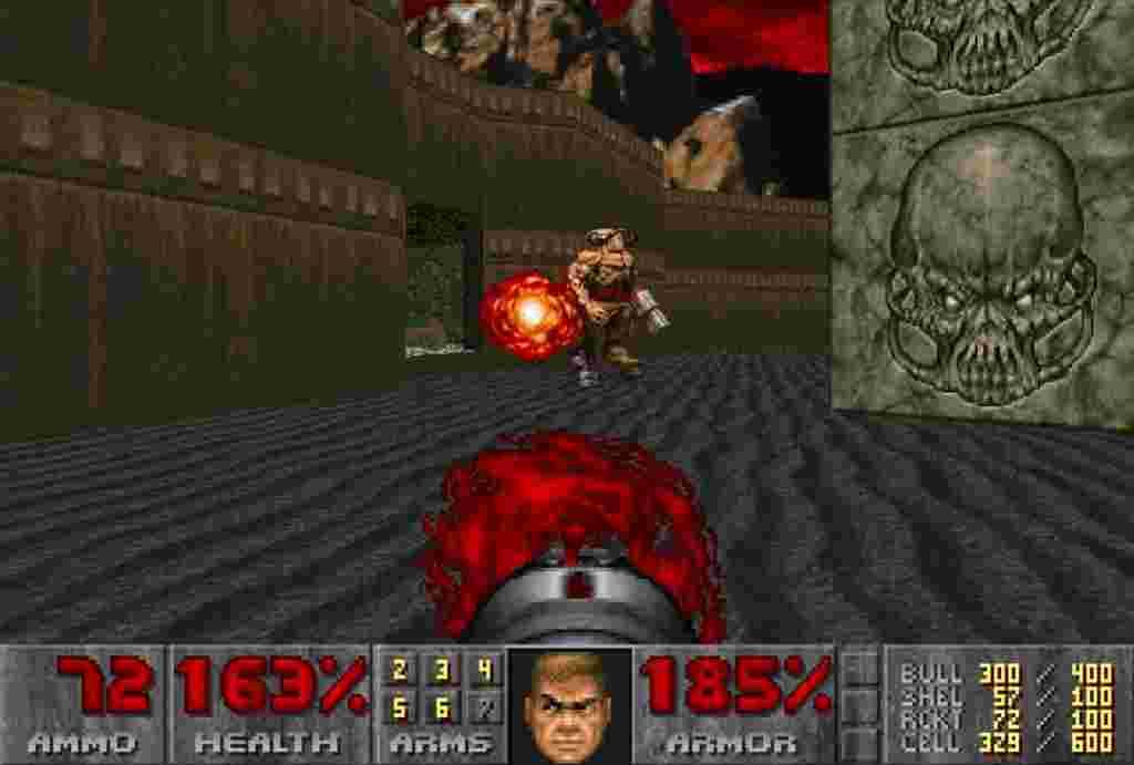 Страшний кібер-демон – бос другого епізоду