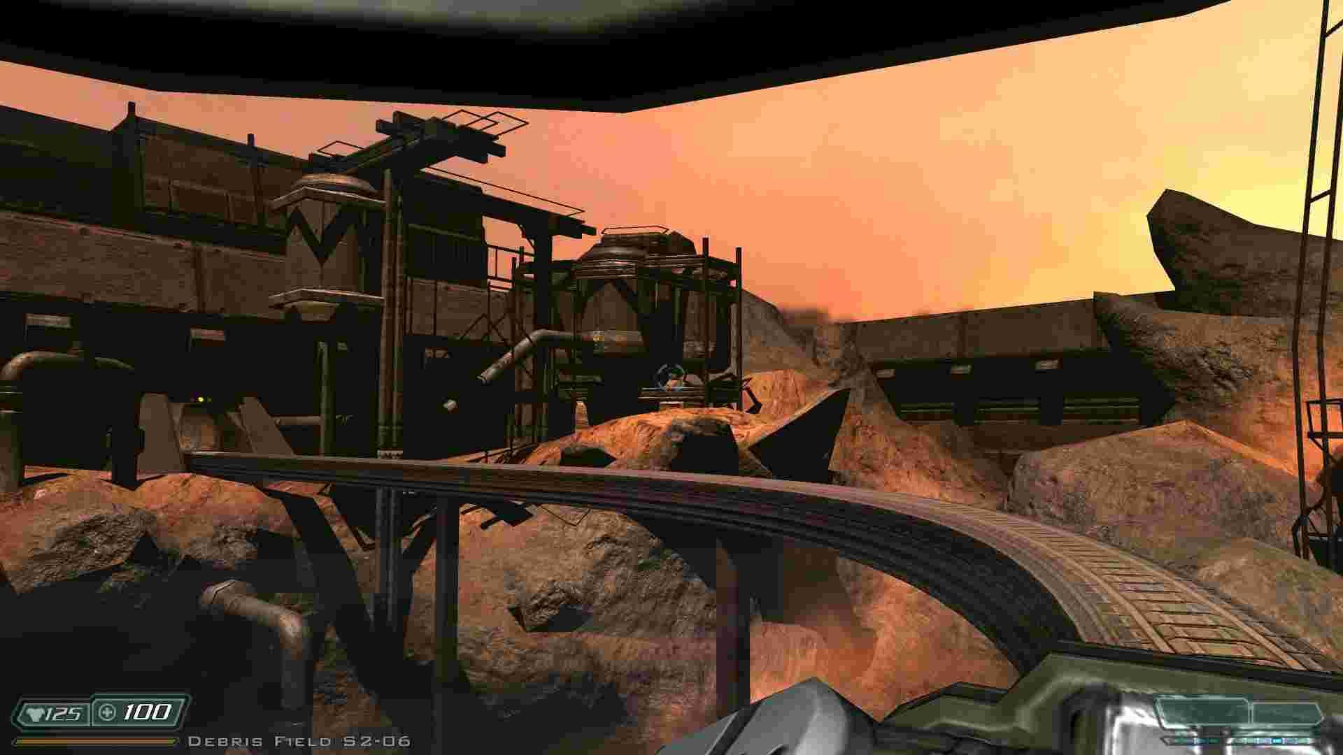 У грі зовсім мало фрагментів марсіанської поверхні, але вони справляють належне враження