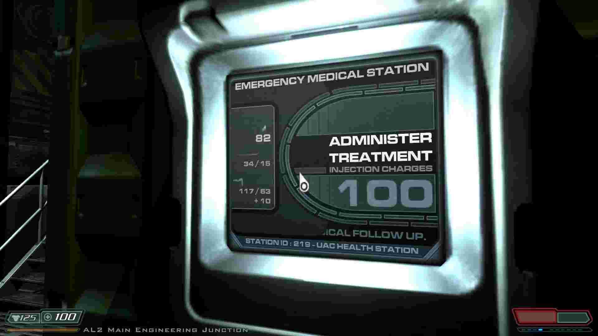 Здоров'я можна поповнювати біля відповідних терміналів, як у Half-Life