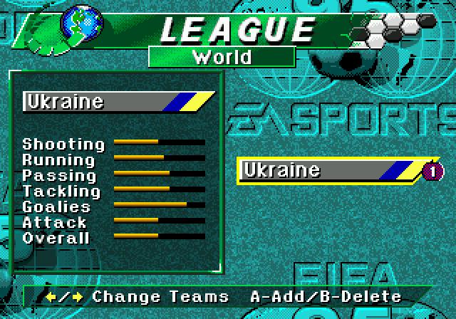 У грі є навіть Україна