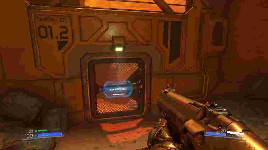 Збір ключів і надалі лишився частиною проходження Doom