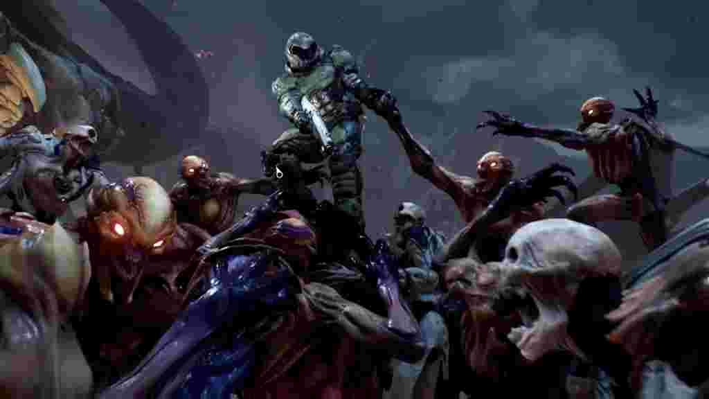Новий Doom пронизаний відсилками до оригіналу, як на цьому арті