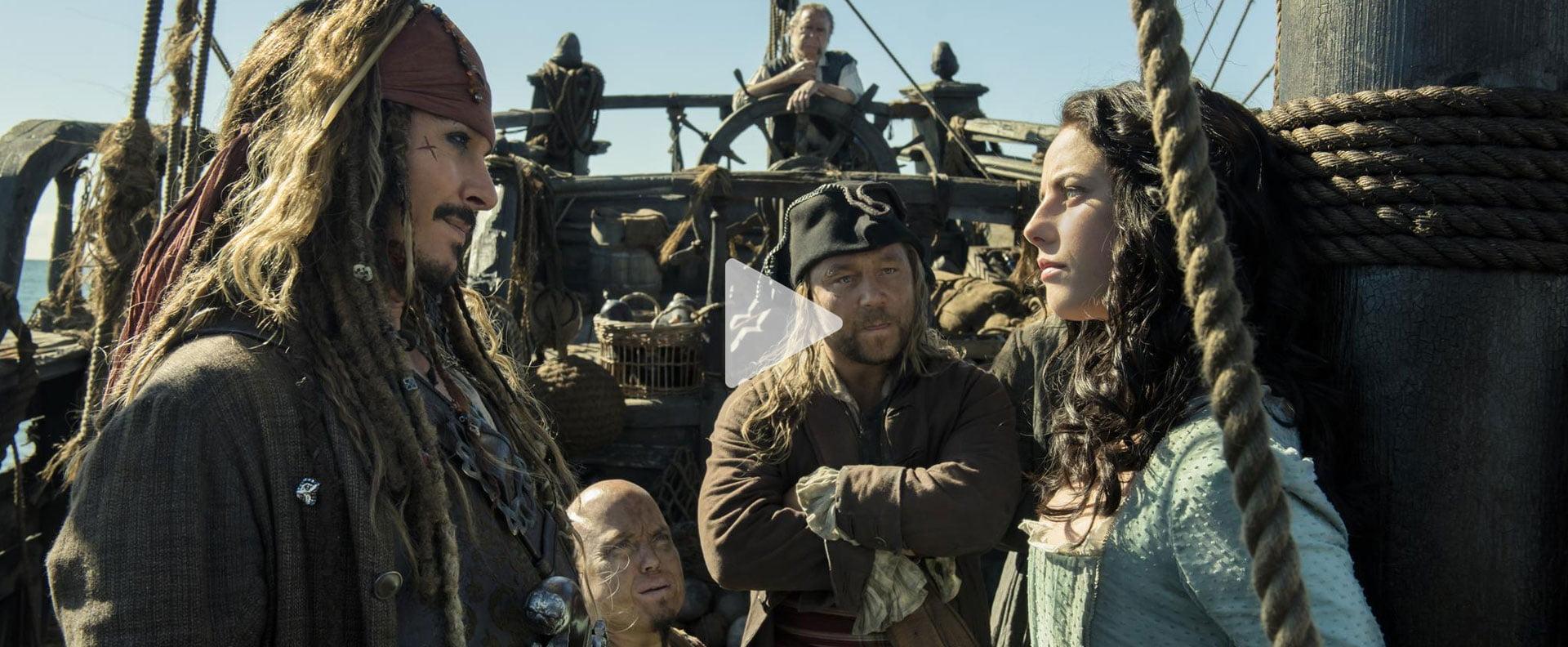 Пірати Карибського моря: Помста Салазара / Pirates of the Caribbean: Dead Men Tell No Tales (2017)