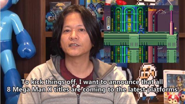 Mega Man X announce