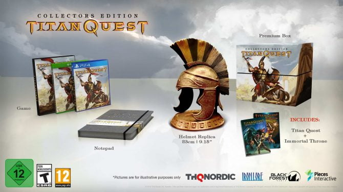 Titan Quest Collectors Editon