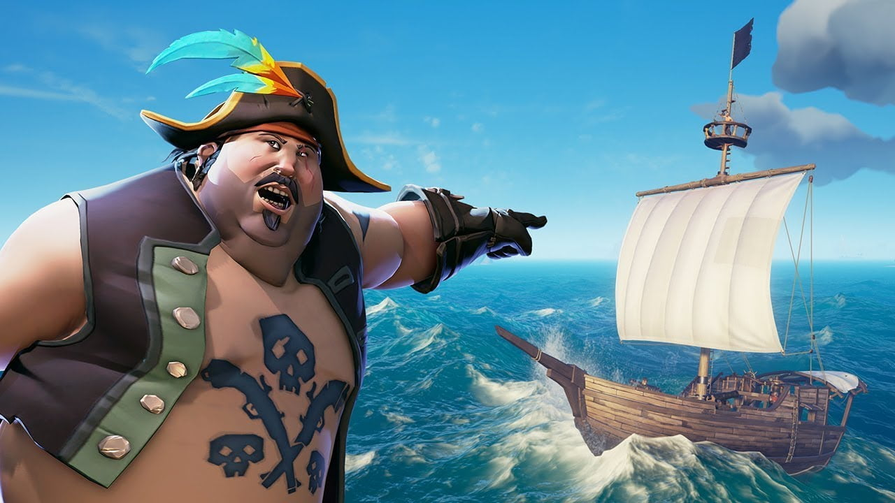 Смешная картинка про пиратов