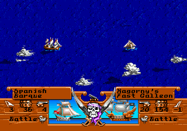 Pirates! Gold (1993)