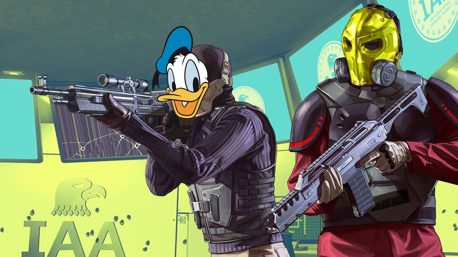 Як PlayUA пограбування проходили (GTA Online)