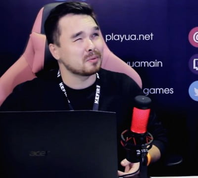 Про українську озвучку. Струґачка / Інтерв'ю з Михайлом Карпанем (Games Gathering 2018)