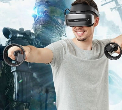 Огляд шолому віртуальної реальності Lenovo Explorer