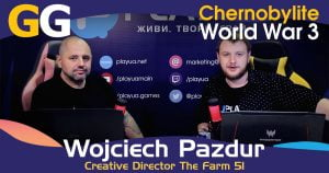 Chernobylite. World War 3. The Farm 51 / Інтерв'ю з Wojciech Pazdur (Games Gathering 2018)