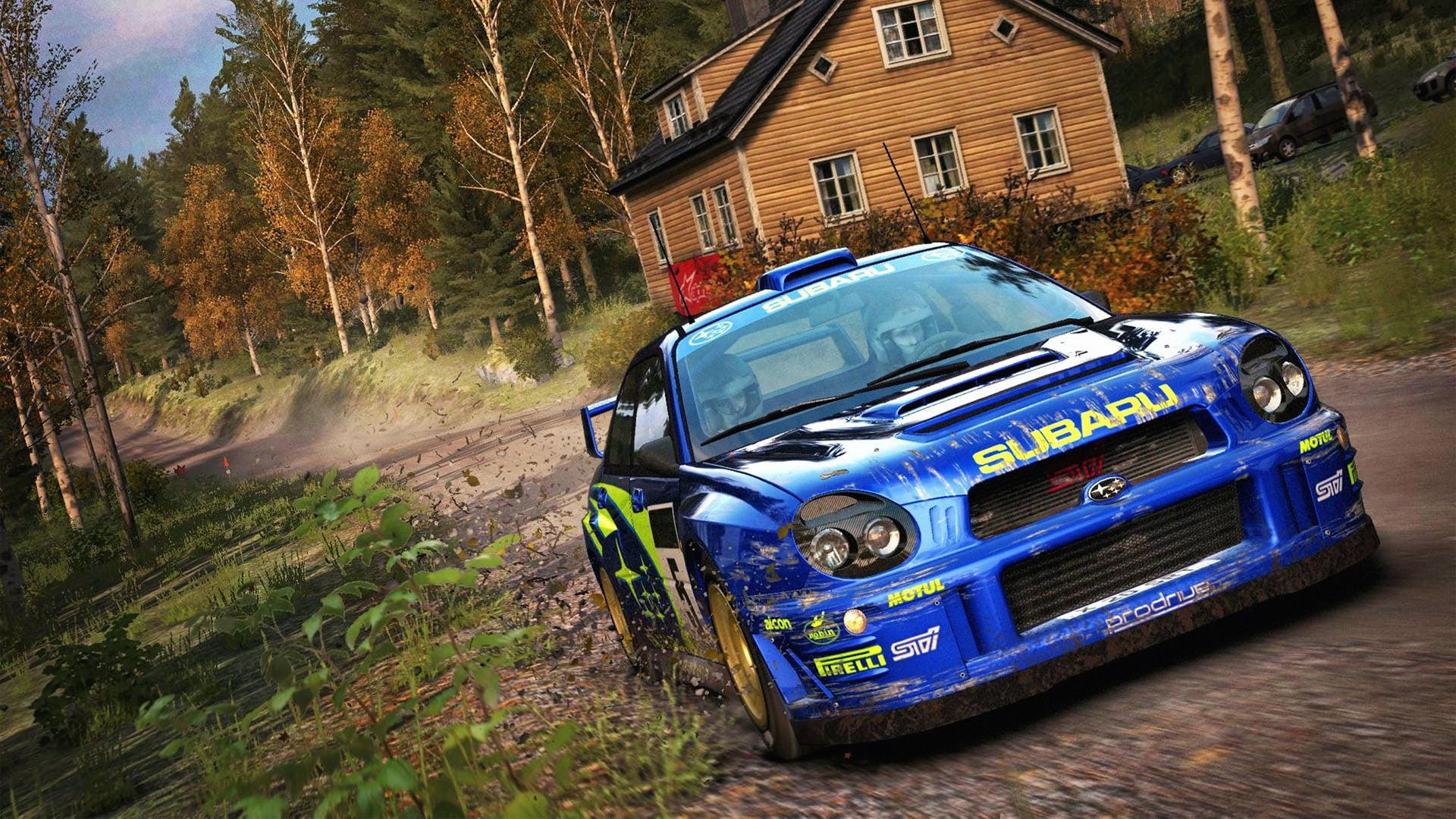 Dirt Rally Subaru Impreza