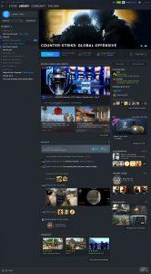 Valve показала редизайн бібліотеки Steam та Steam Events