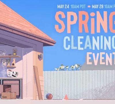 «Весняне прибирання» Steam