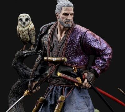 Geralt Ronin Figure