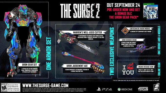 the_surge_2_pre_order_stuff