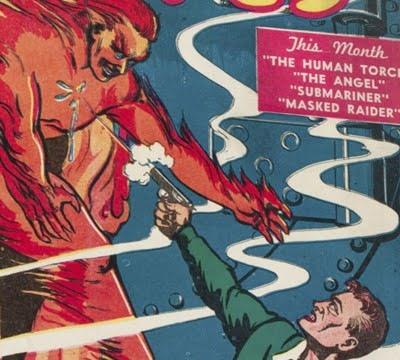 First Marvel Comics