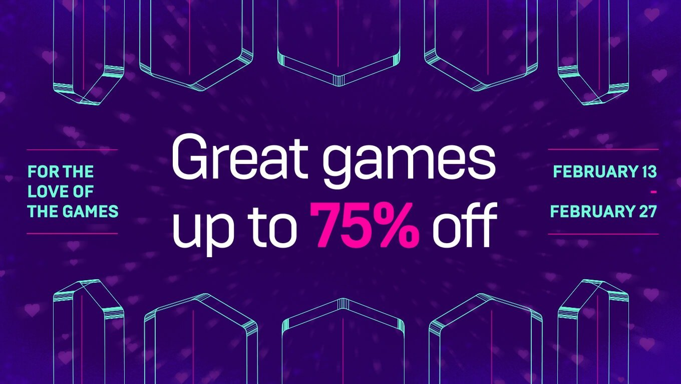Epic Games Store Sale Valentine's Day