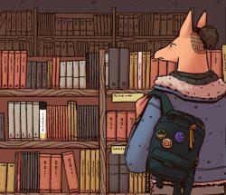 The Bookshelf Limbo