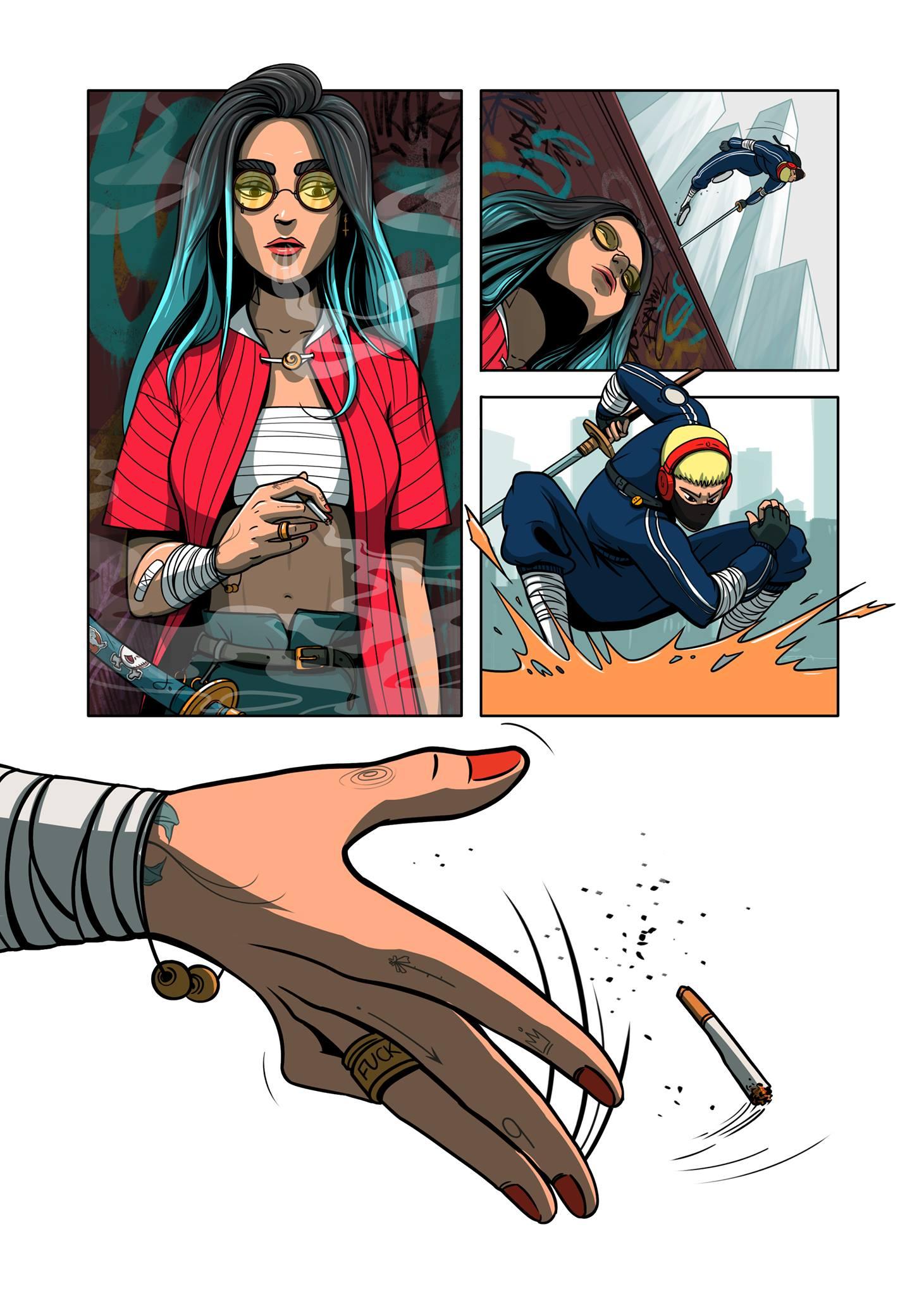 spring comics