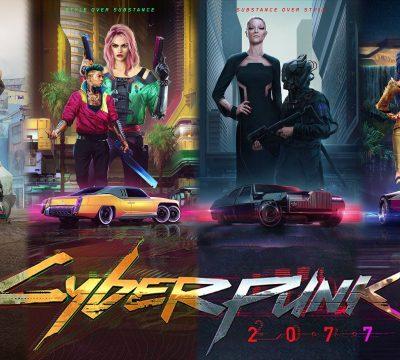 Cyberpunk 2077 styles