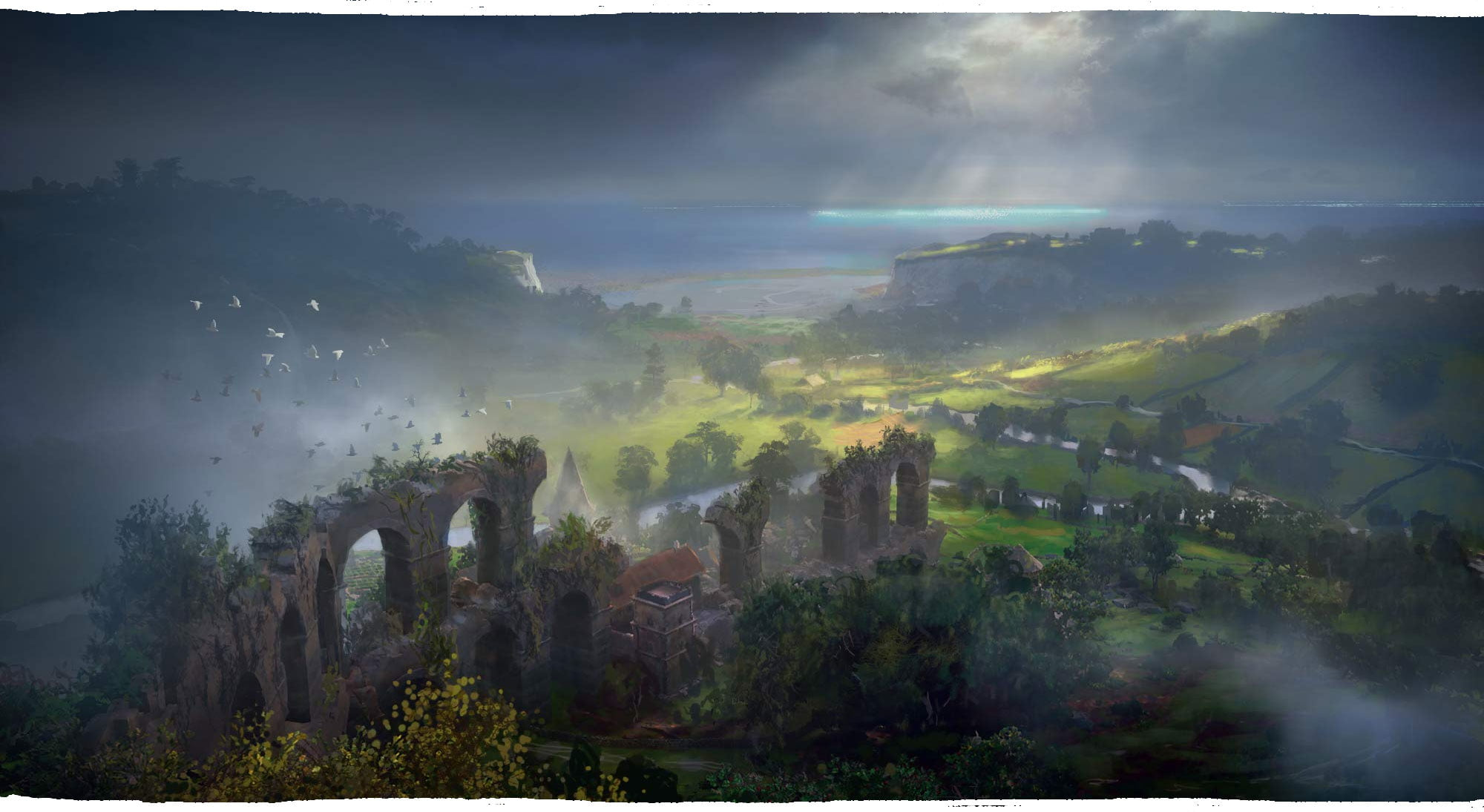 Світ гри Assassin's Creed Valhalla | артбук