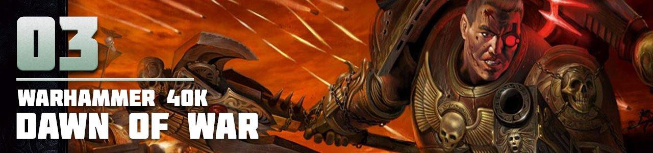 3. Warhammer 40,000: Dawn of War